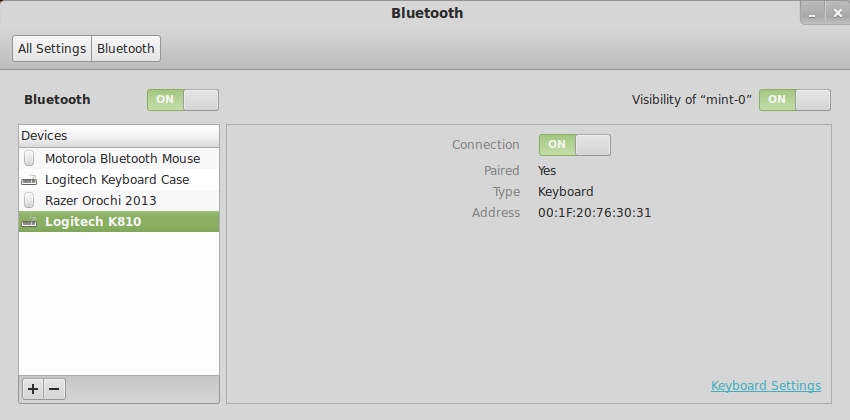 How to attach an unsupported BT Keyboard/Mouse in Ubuntu 12 04+