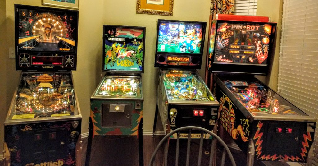 Restoring a Stargate Pinball machine (with 3D printed parts